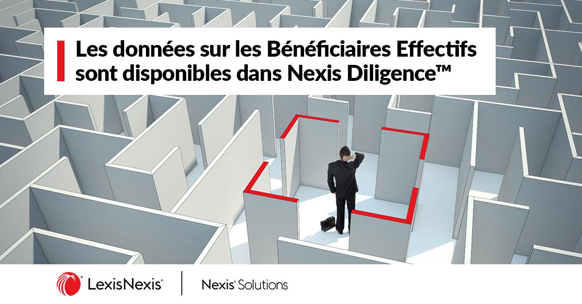 Nexis Solutions intègre les données de Dun & Bradstreet® sur les bénéficiaires effectifs dans sa solution de gestion des risques Nexis Diligence™