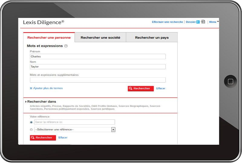 Lexis Dilligence by LexisNexis BIS